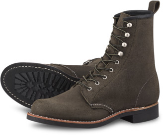 Red Wing Shoes Shoes Silversmith 3360 Pewter Acampo - leather | US 7 | black - Black/Black