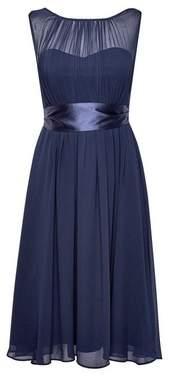 Dorothy Perkins Womens **Showcase Petite Navy 'Bethany' Midi Dress