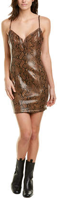 Astr The Label Come Slither Mini Dress