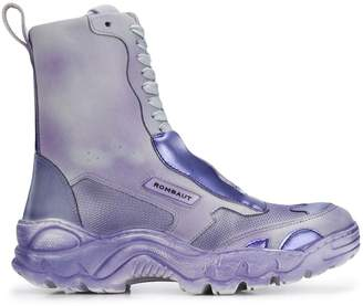 Rombaut ridged sole lace-up boots