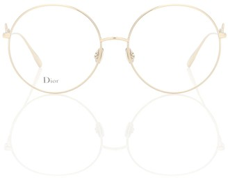 Christian Dior DiorSignature02 round glasses