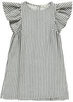 Hundred Pieces Sale - Stripe Butterfly Sleeve Dress
