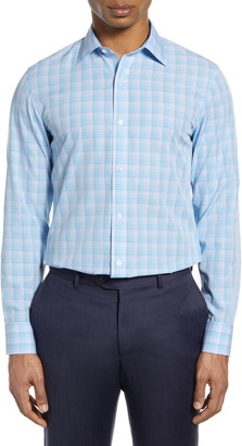 Bonobos Slim Fit Plaid Dress Shirt
