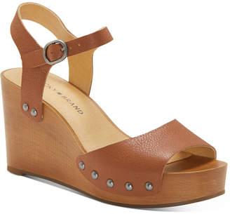 Lucky Brand Women Zashti Wedge Sandals Women Shoes