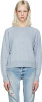 Alexander Wang Blue Cropped Sweater