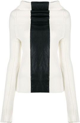 Pierantonio Gaspari Colour-Block Panel Jumper
