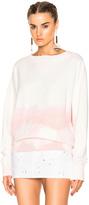 Faith Connexion Spray Raglan Sweatshirt