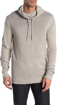 Hedge Cowl Neck Twist Yarn Sweater