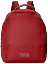 Lipault Paris Business Avenue Backpack Small (Garnet Red) Backpack Bags