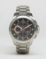 Michael Kors MK8528 Ryker Chronograph Bracelet Watch In Silver