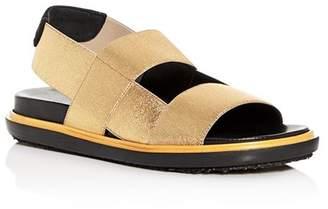 Marni Women's Fussbett Slingback Platform Sandals