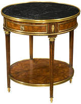 Theodore Alexander Formalities Side Table - Amber