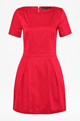 French Connection Plain Richie Structured Dress