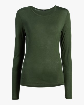Fite Luxury Tees Cashmere Crewneck Long-Sleeve Top