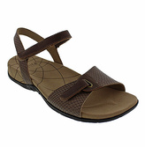 Sanita Brown Snake Catalina Claudia Leather Sandal - Women