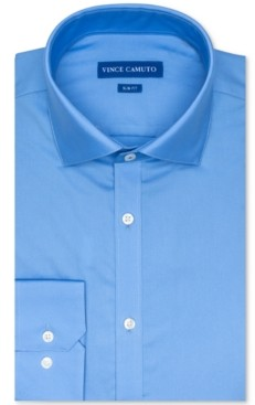 Vince Camuto Men's Slim-Fit Dobby Dress Shirt