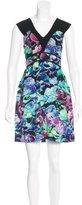 Sandro Silk Floral Print Dress