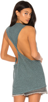 Lanston Twist Back Muscle Tank