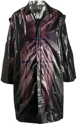 Craig Green Zipped Midi Raincoat