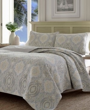 Tommy Bahama Home Tommy Bahama Turtle Cove King Quilt Sham Set