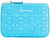 Comme des Garcons textured zipped wallet