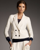 3.1 Phillip Lim Cropped Double-Breasted Jacket