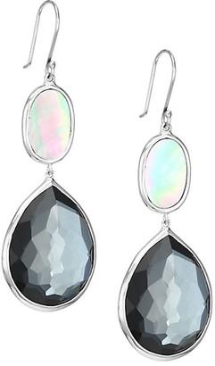 Ippolita Polished Rock Candy Sterling Silver & Multi-Stone Teardrop Earrings