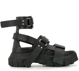 Rick Owens Tecuatl tractor sandals