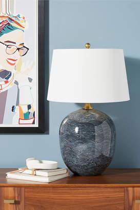 Anthropologie Harbor Ceramic Table Lamp