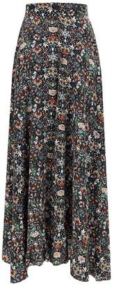 Zadig & Voltaire Joyo Kaleido Maxi Skirt