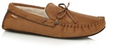 Totes Tan Moccasin Slippers In A Gift Box