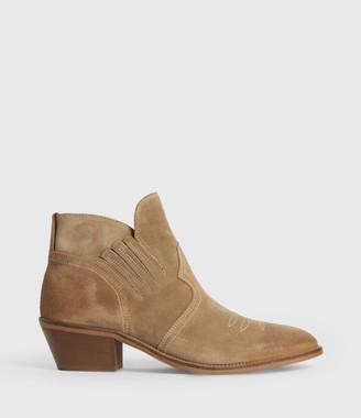 AllSaints Weiz Suede Boots