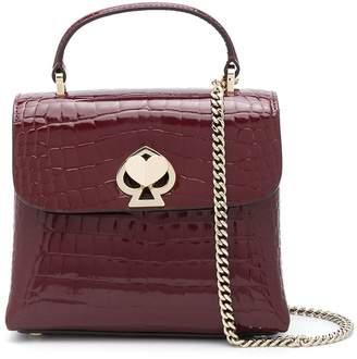 Kate Spade mini Romy croc-effect bag