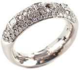 H.Stern 18 KT White Gold Pave Diamond Paola Ring Sz 5.5 $2000