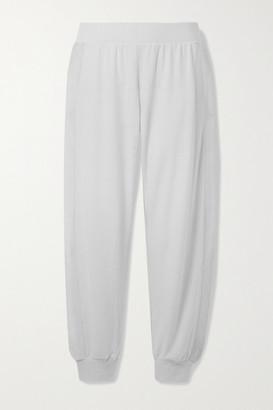 Eberjey Cozy Time Stretch Modal-blend Track Pants - Light gray