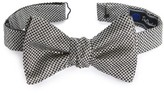 David Donahue Men's Geometric Silk Bow Tie