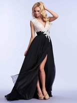 Mac Duggal 10027 in Black/White
