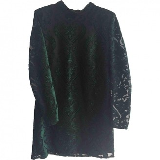 Topshop Tophop Green Dress for Women