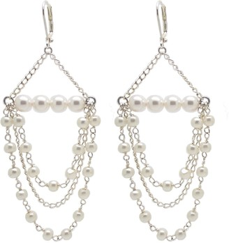 Salome Bridal Collection Tilly Pearl Chandelier Earrings