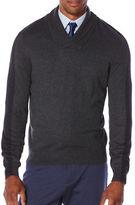 Perry Ellis Regular-Fit Color Block Pullover