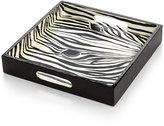 Heart of Haiti Papier Mache Zebra Tray