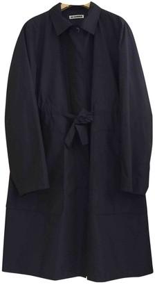 Jil Sander Navy Coat for Women