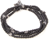 M. Cohen Onyx and silver bracelet