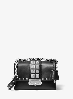 Michael Kors Cece Extra-Small Studded Leather Convertible Crossbody Bag