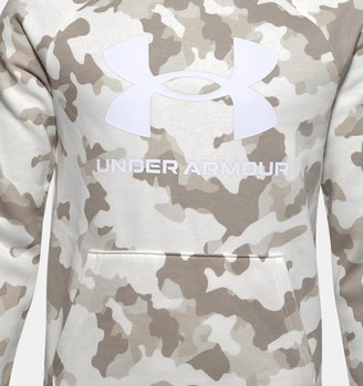 Under Armour Boys' UA Rival Fleece Printed Hoodie