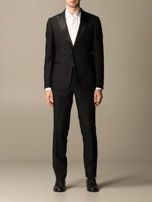 Ermenegildo Zegna Suit Single-breasted Tuxedo In Wool 260 Gr
