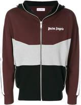 Palm Angels colourblock zip hoodie