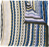 Missoni striped knitted scarf - women - Cotton/Polyamide/Viscose - One Size