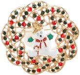 Merry & Bright Mr. Bingle Wreath Pin