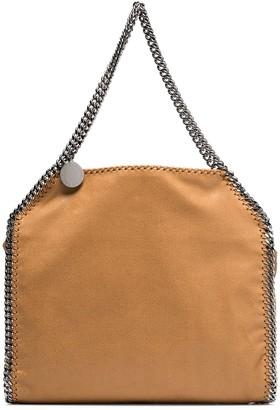 Stella McCartney brown Falabella small faux leather tote